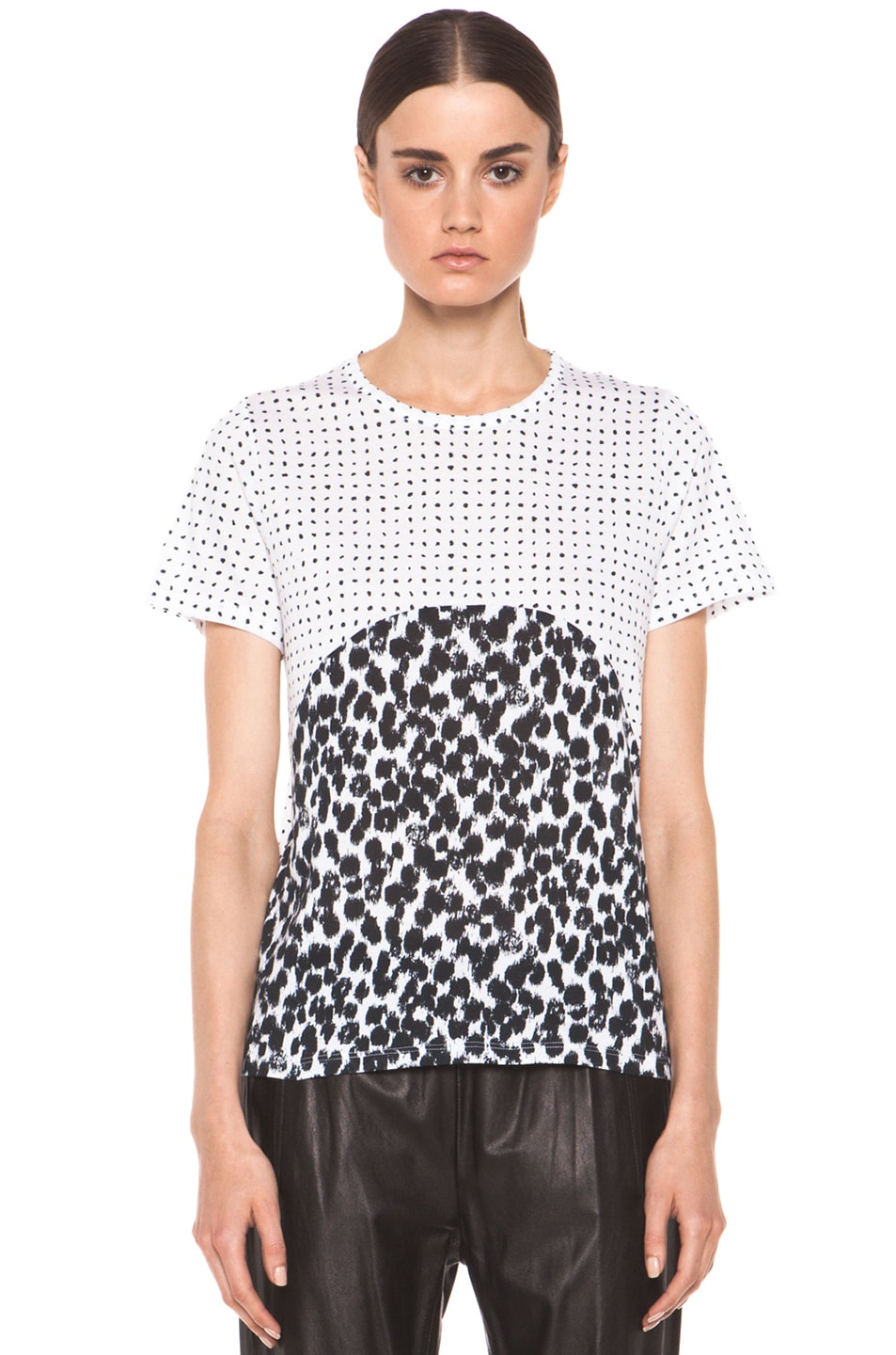 Image 1 of Stella McCartney Graphic Tee in Black & White