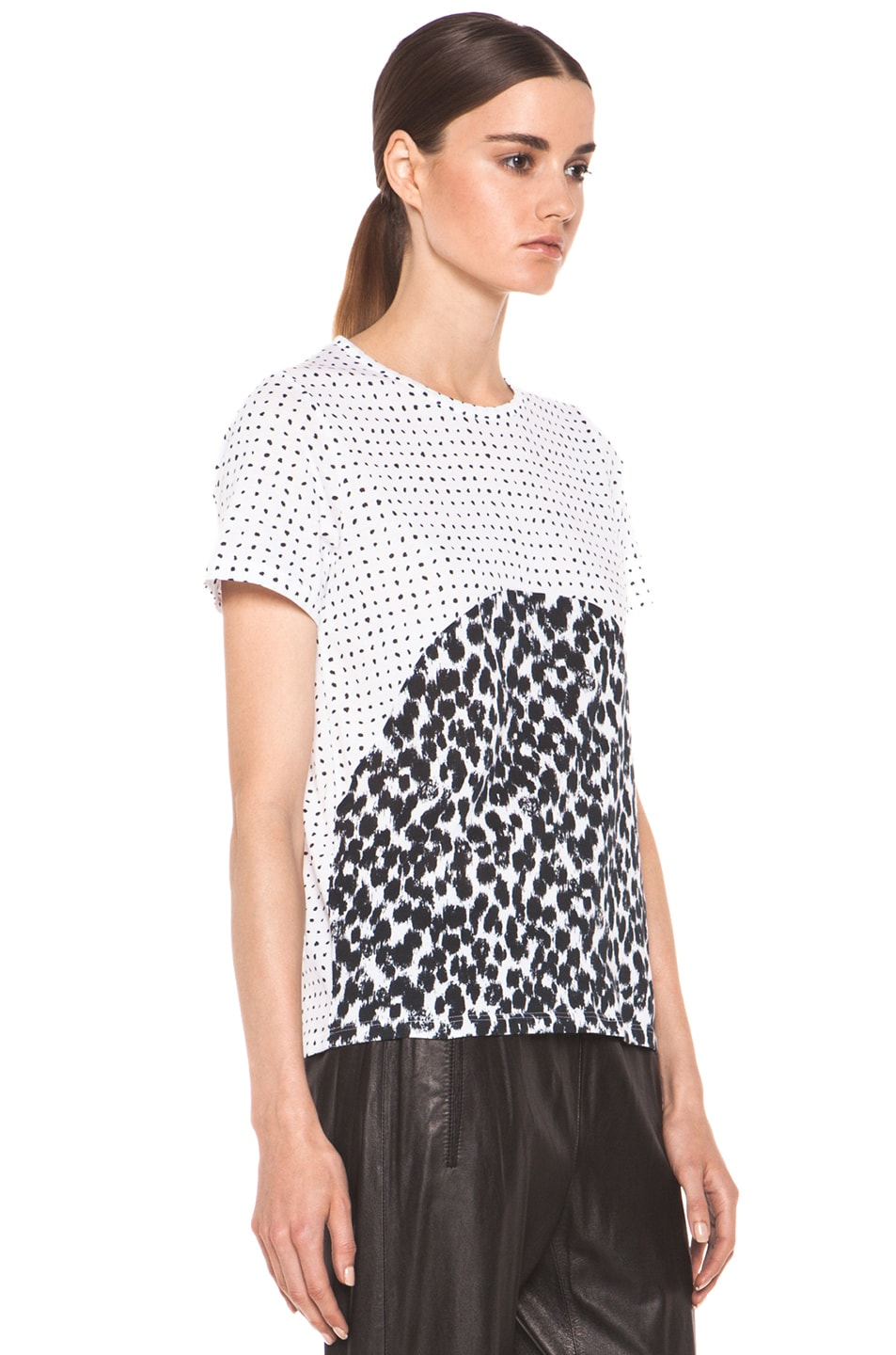 Image 3 of Stella McCartney Graphic Tee in Black & White