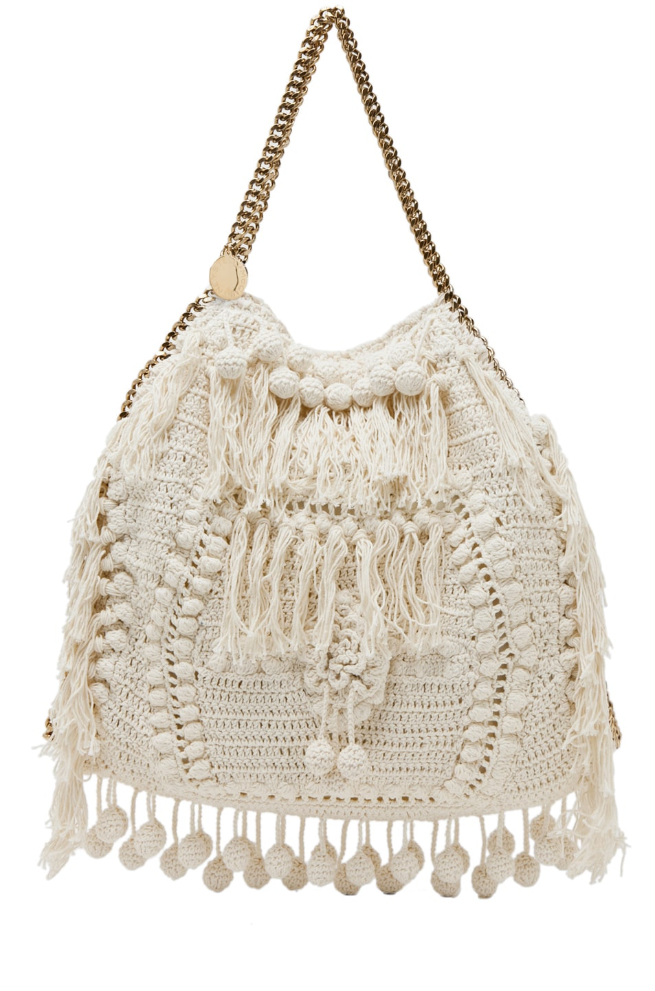 Image 1 of Stella McCartney Crochet Big Tote in White