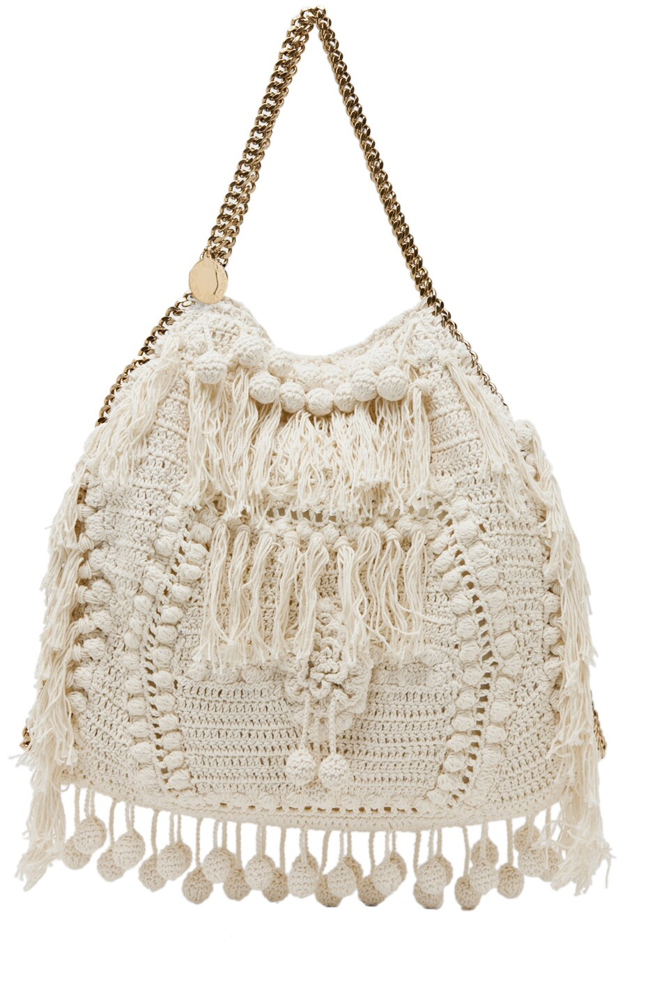 Image 2 of Stella McCartney Crochet Big Tote in White