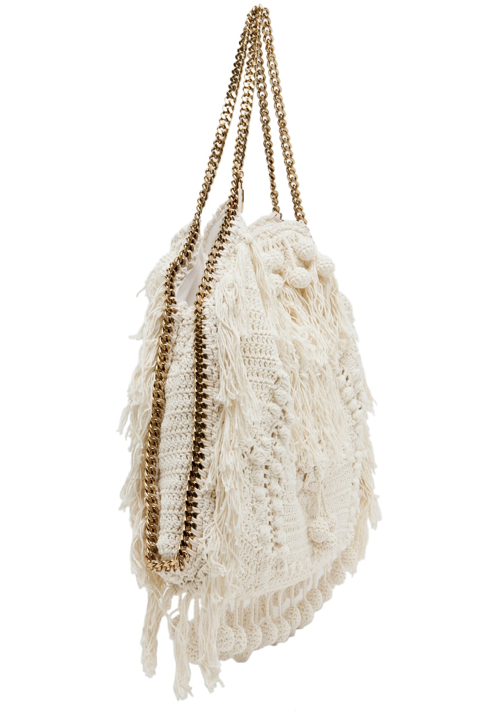 Image 3 of Stella McCartney Crochet Big Tote in White