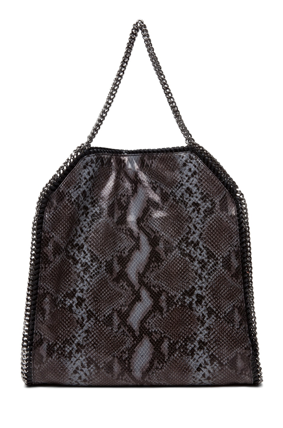 Image 2 of Stella McCartney Python VIP Big Tote in Teal