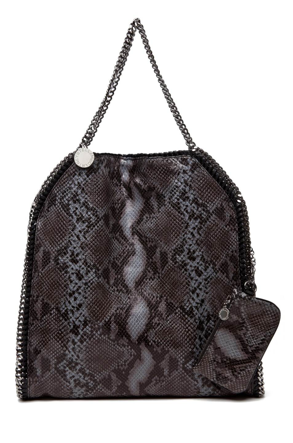 Image 3 of Stella McCartney Python VIP Big Tote in Teal