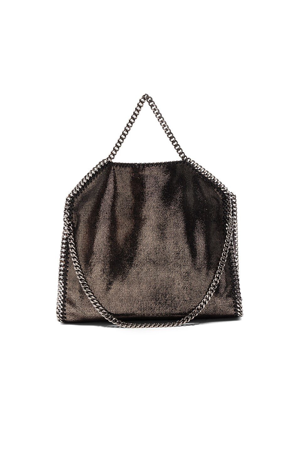 Image 2 of Stella McCartney Falabella Small Fold-Over Tote in Black