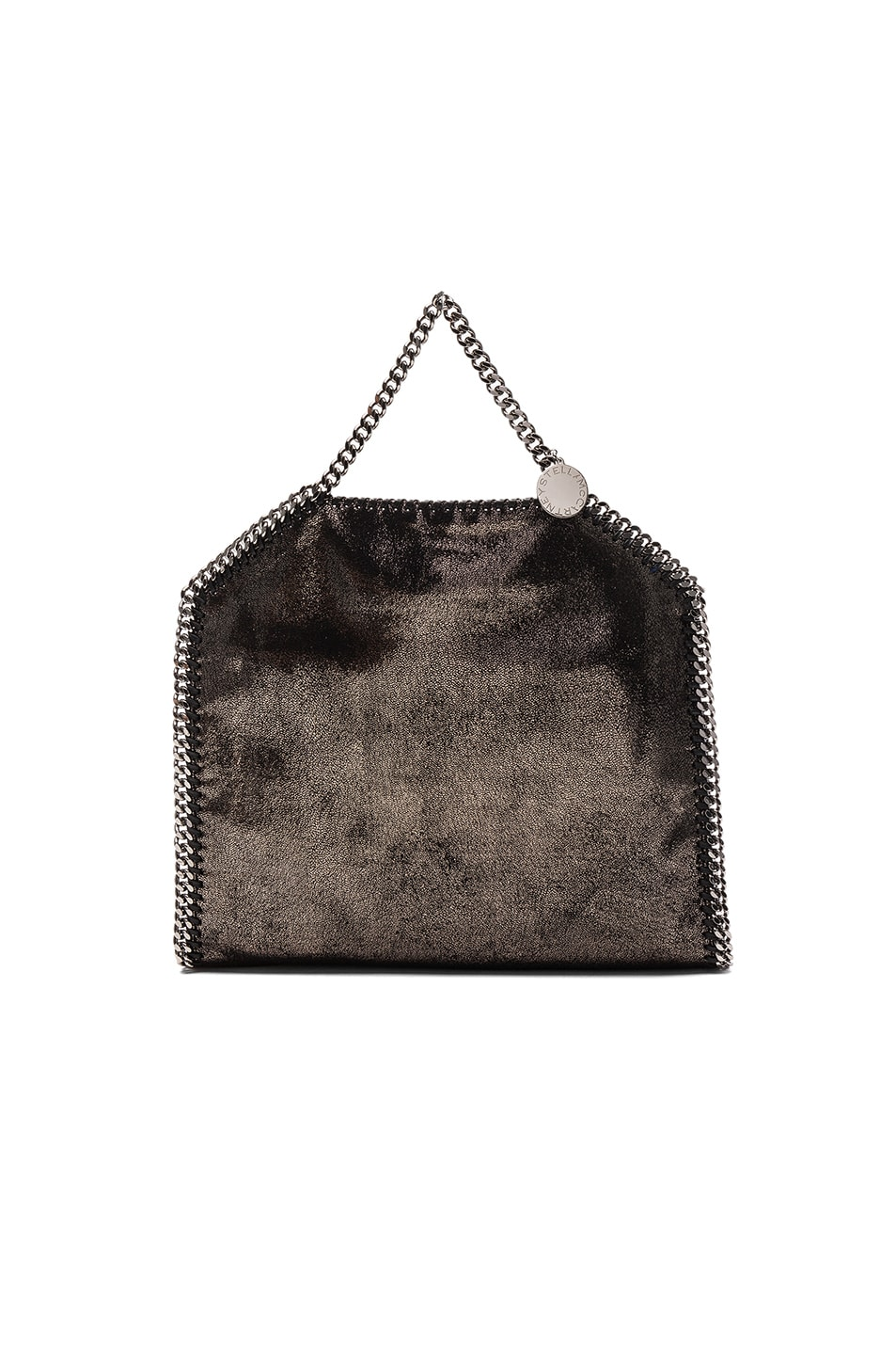 Image 3 of Stella McCartney Falabella Small Fold-Over Tote in Black
