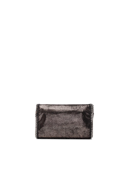 Image 2 of Stella McCartney Falabella Mini Shoulder Fold-Over in Black
