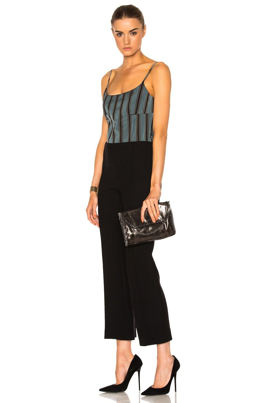 Image 6 of Stella McCartney Falabella Mini Shoulder Fold-Over in Black