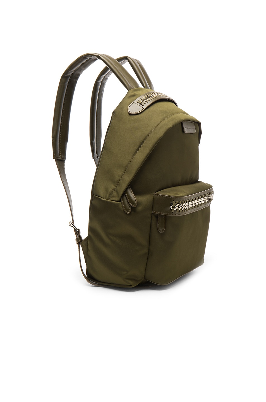 Image 3 of Stella McCartney Backpack in Khaki