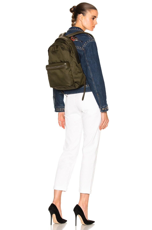 Image 5 of Stella McCartney Backpack in Khaki