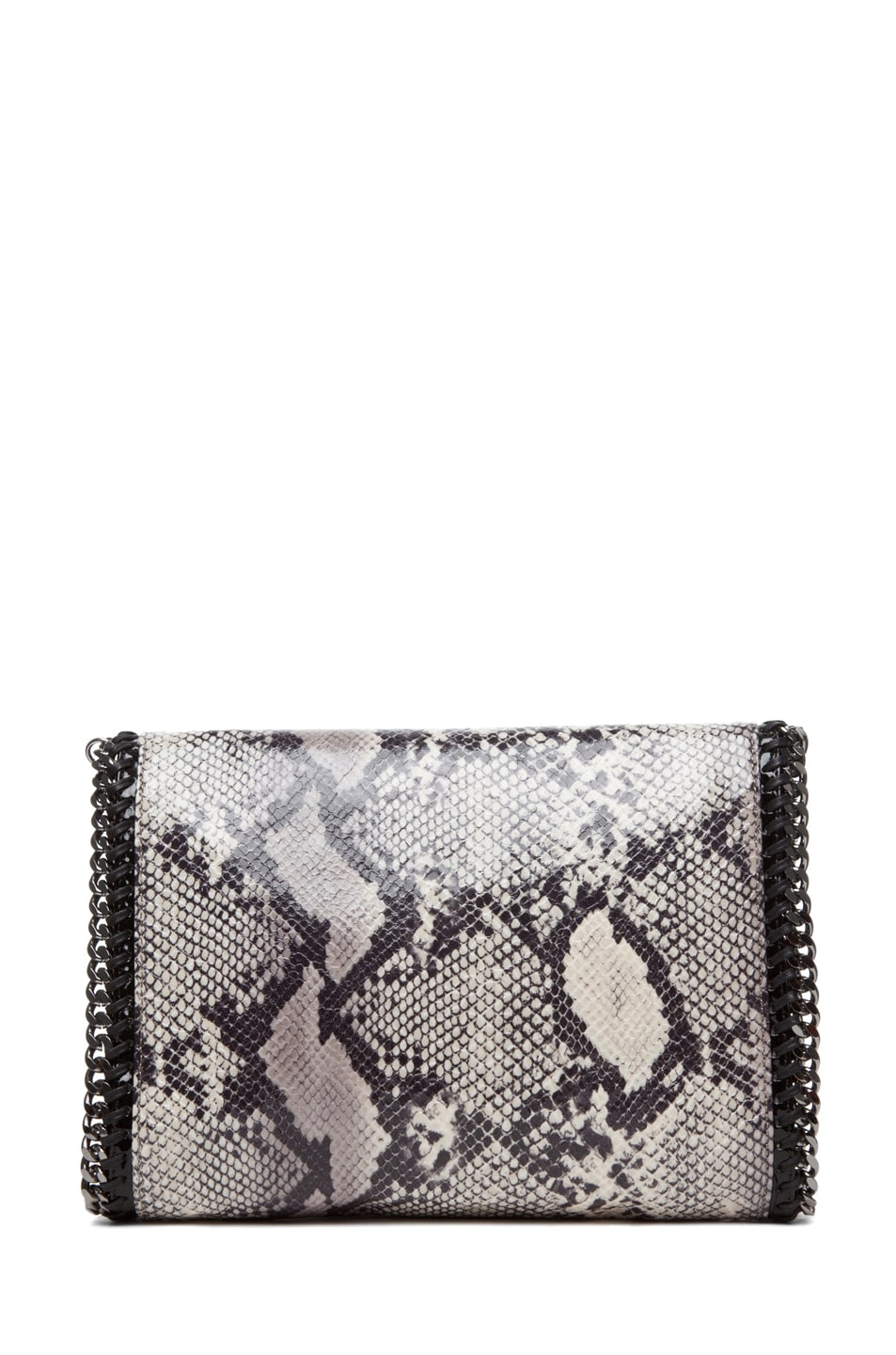 Image 2 of Stella McCartney Python VIP Shoulder Bag in Ivory
