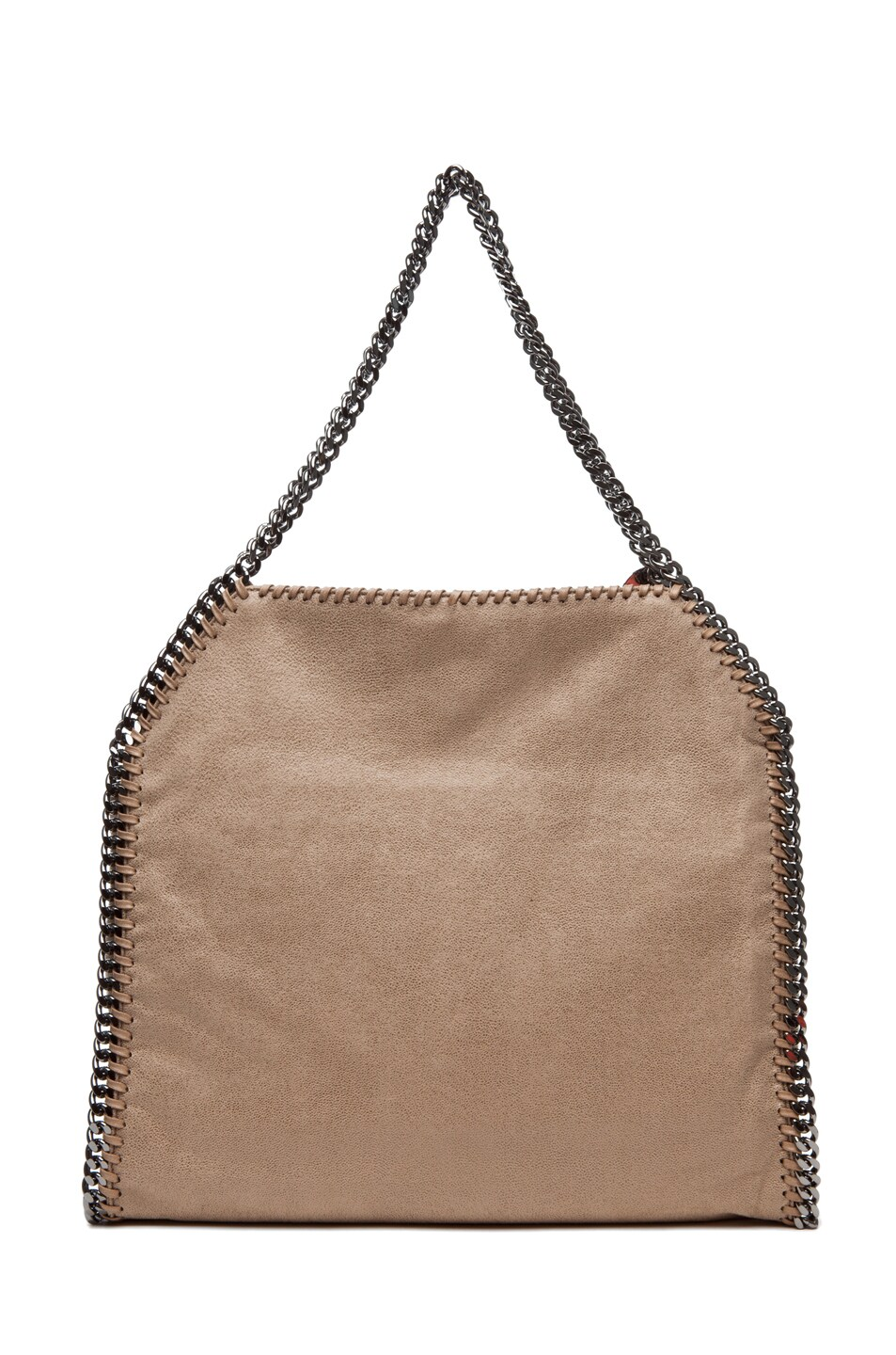 Image 2 of Stella McCartney Shaggy Deer Small Tote in Toffee