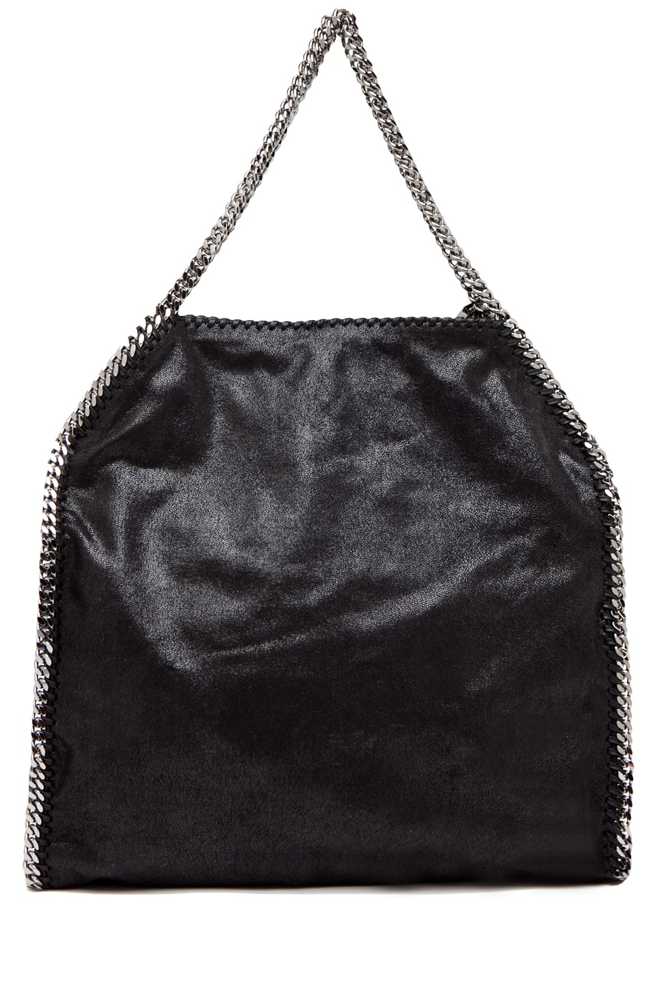 Image 2 of Stella McCartney Big Shaggy Deer Falabella Tote in Black