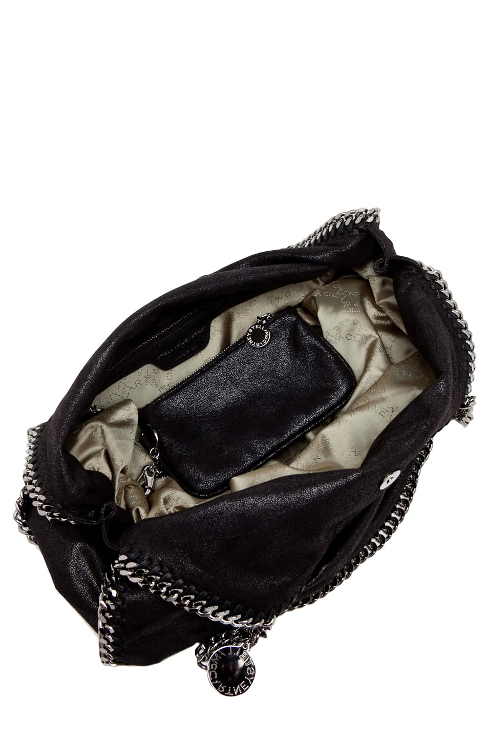 Image 5 of Stella McCartney Big Shaggy Deer Falabella Tote in Black