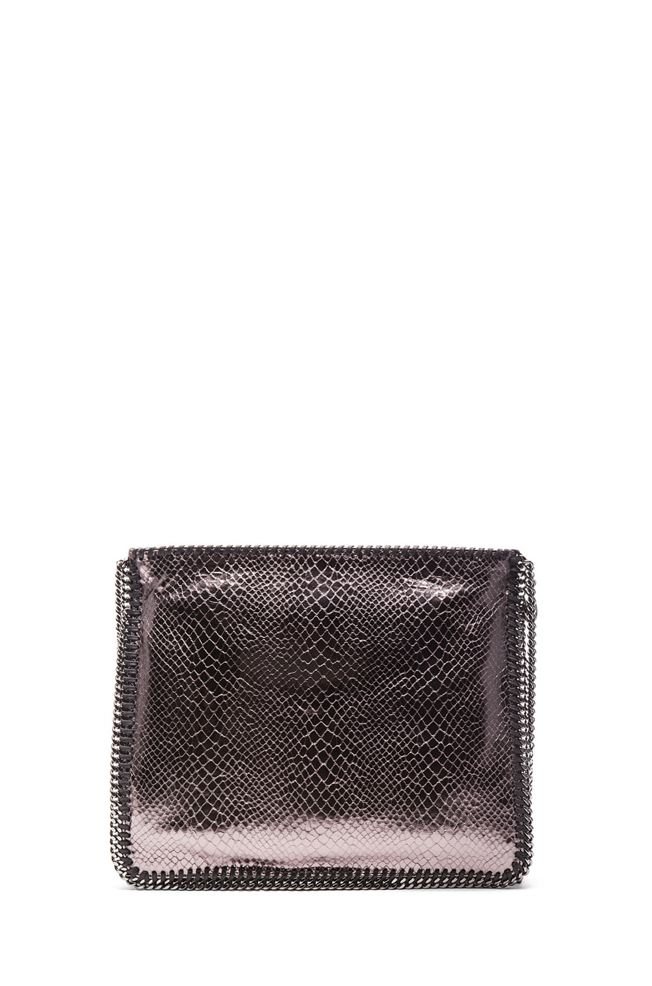 Image 2 of Stella McCartney Metallic Falabella Shoulder Bag in Grey