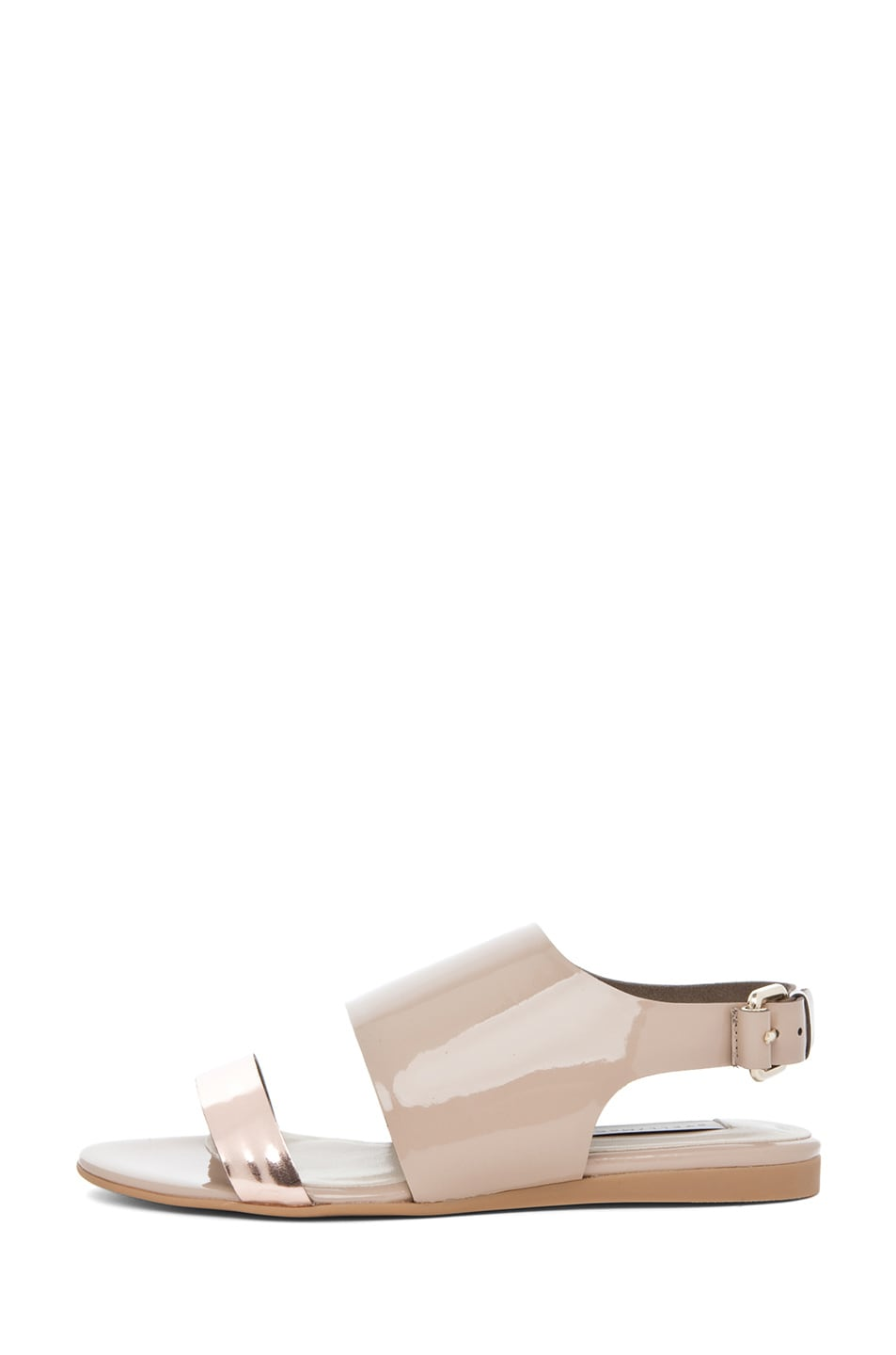 Image 1 of Stella McCartney Sandal in Rose Gold & Desert