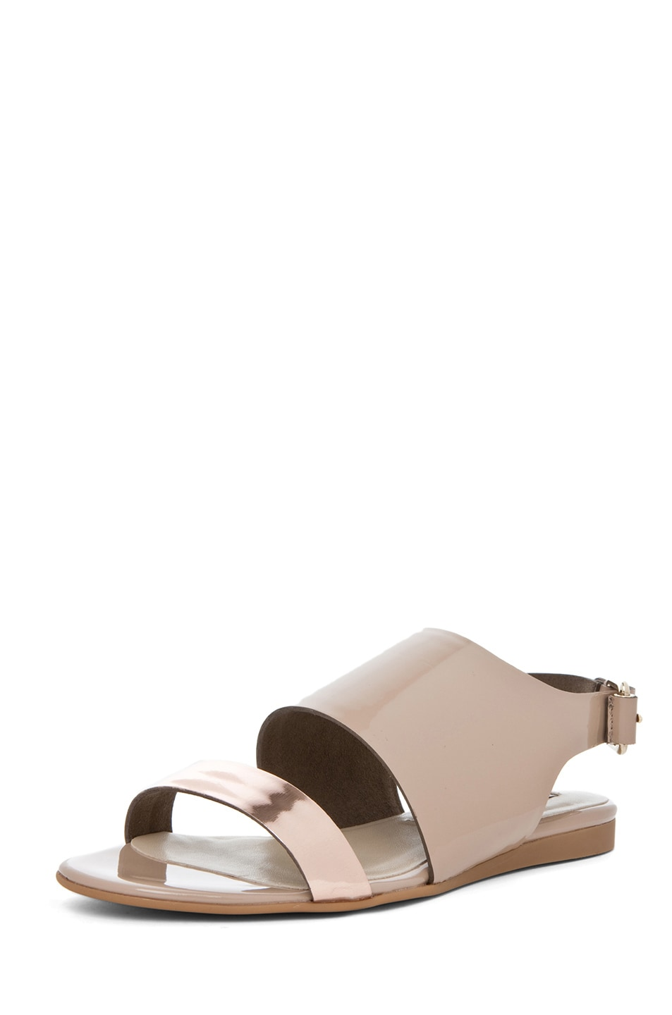 Image 2 of Stella McCartney Sandal in Rose Gold & Desert