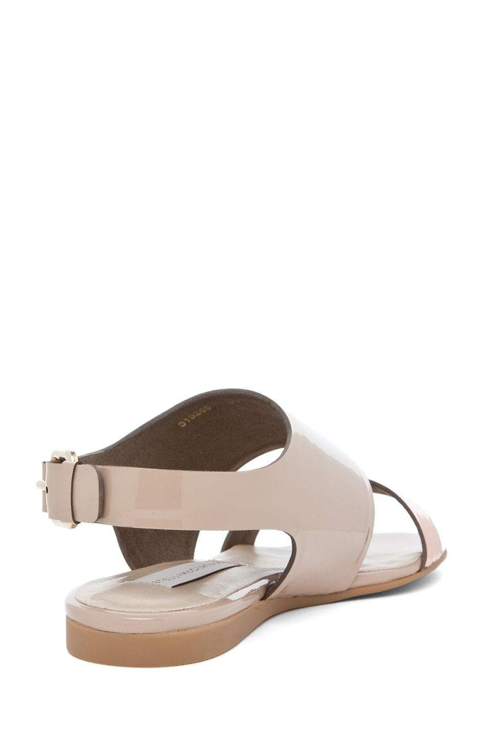 Image 3 of Stella McCartney Sandal in Rose Gold & Desert