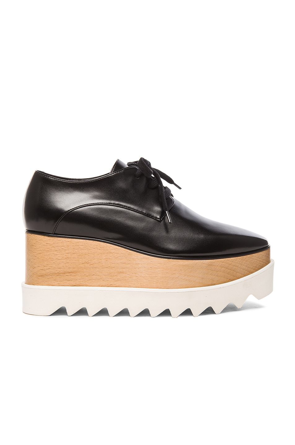 stella mccartney elyse platform shoes in black fwrd