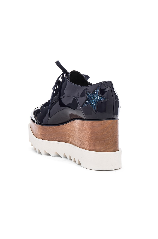 Image 3 of Stella McCartney Elyse Star Platform Shoes in Night Blue