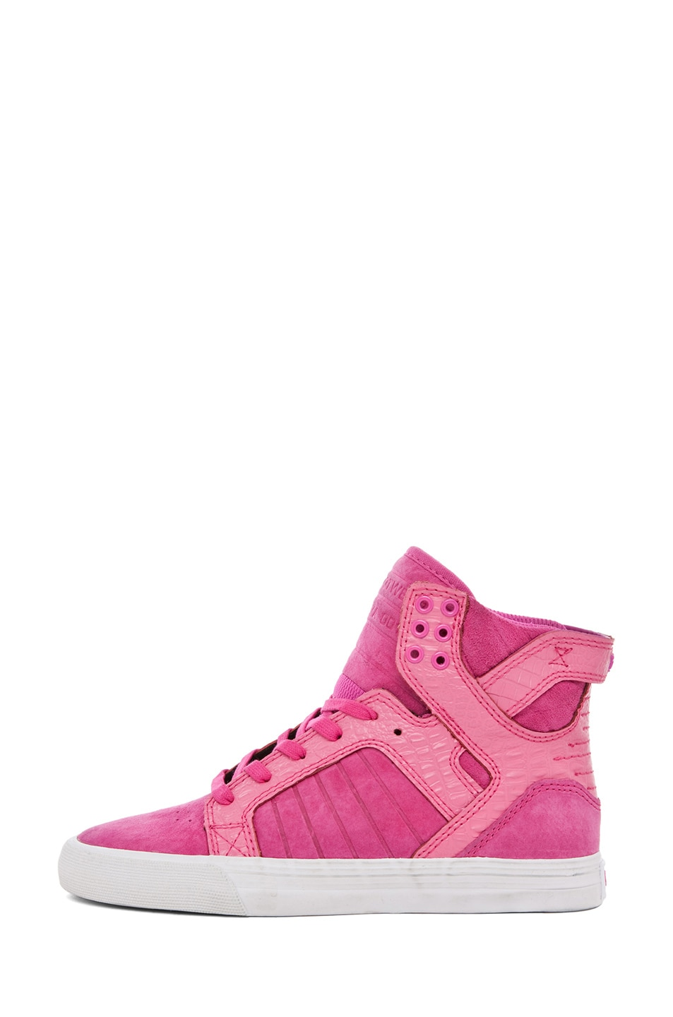Image 1 of Supra PINK PARTY EXCLUSIVE Skytop Sneaker in Pink
