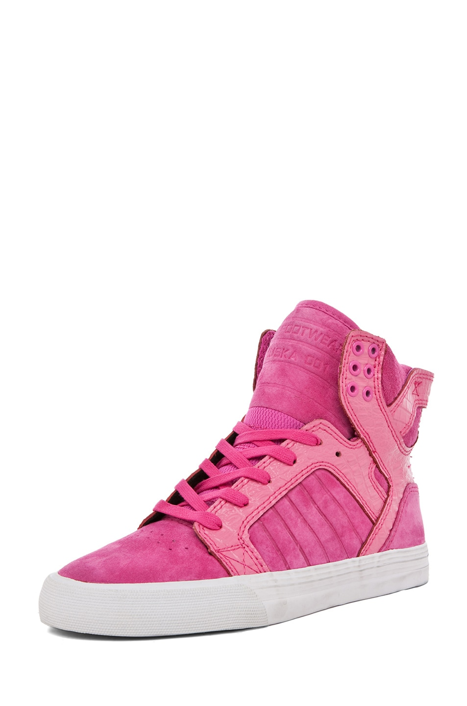 Image 2 of Supra PINK PARTY EXCLUSIVE Skytop Sneaker in Pink
