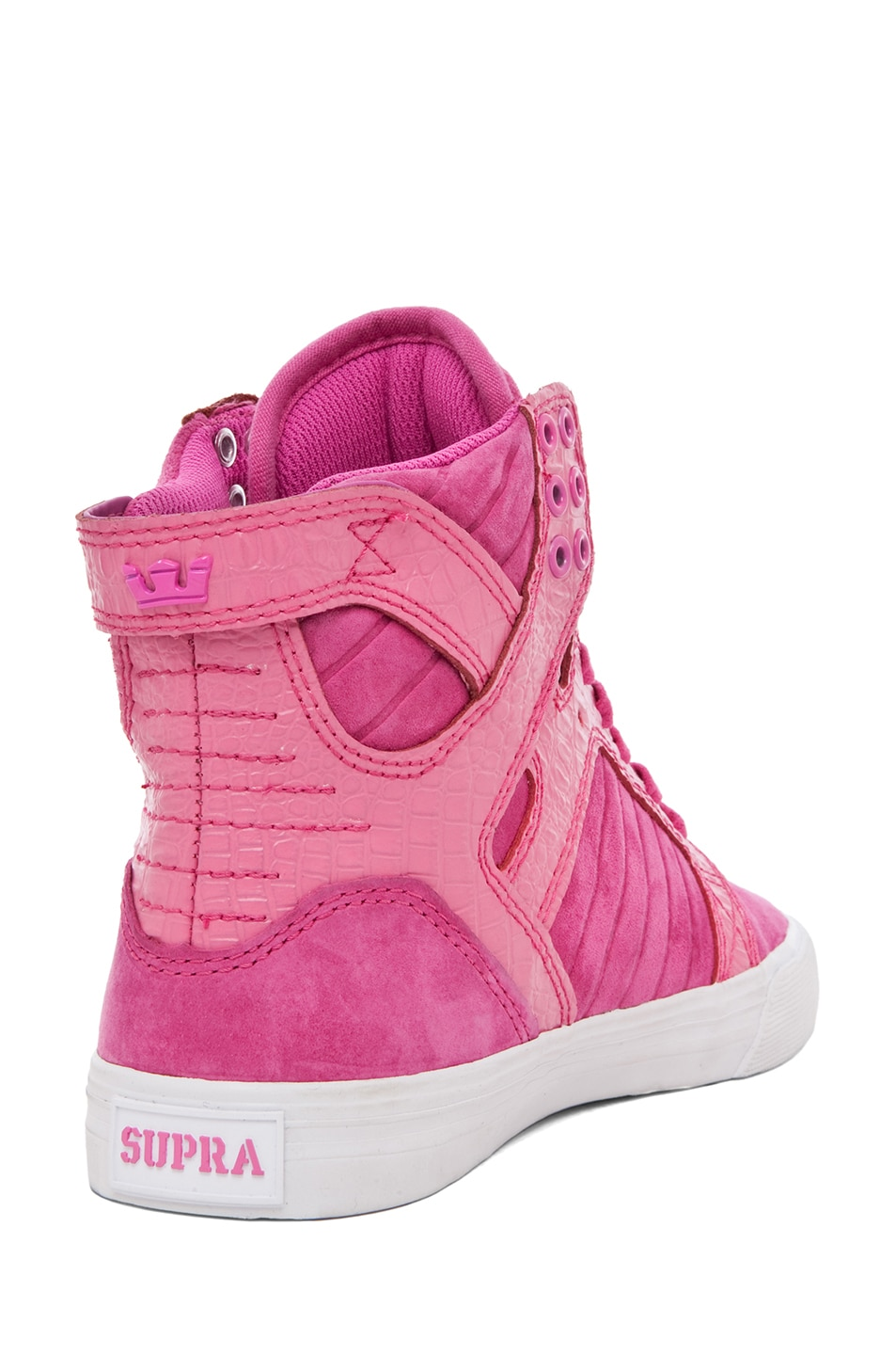 Image 3 of Supra PINK PARTY EXCLUSIVE Skytop Sneaker in Pink