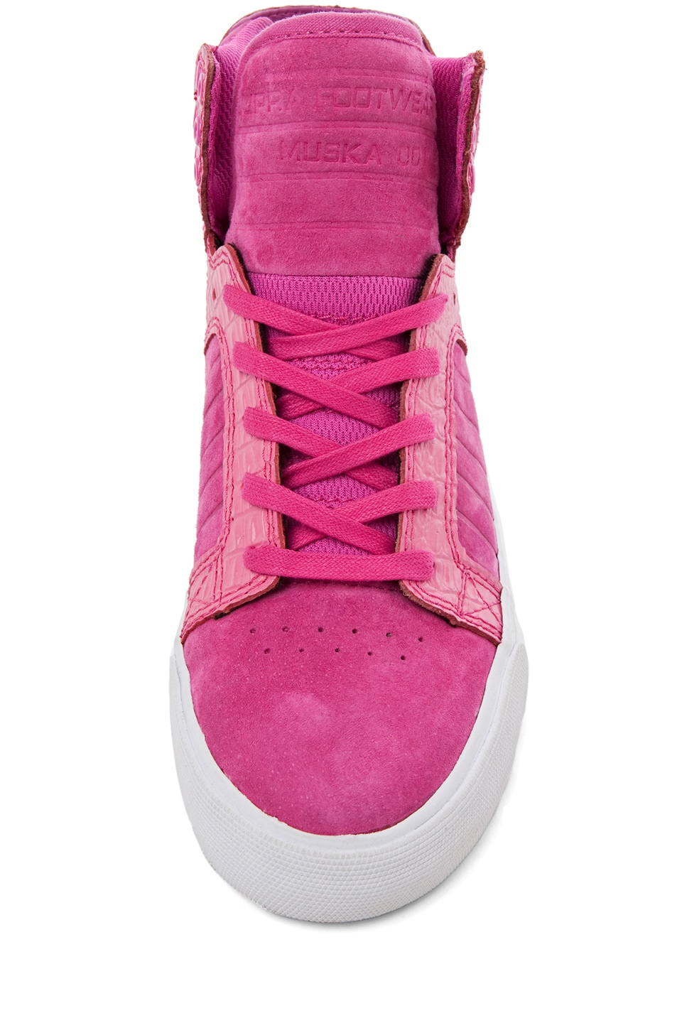 Image 4 of Supra PINK PARTY EXCLUSIVE Skytop Sneaker in Pink
