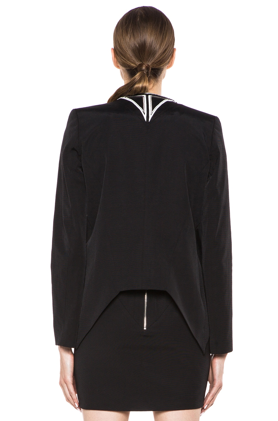 Image 4 of Sass & Bide Down to Earth Cotton-Blend Jacket in Black
