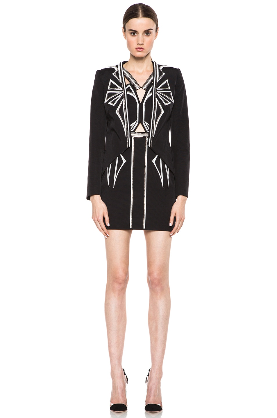 Image 5 of Sass & Bide Down to Earth Cotton-Blend Jacket in Black