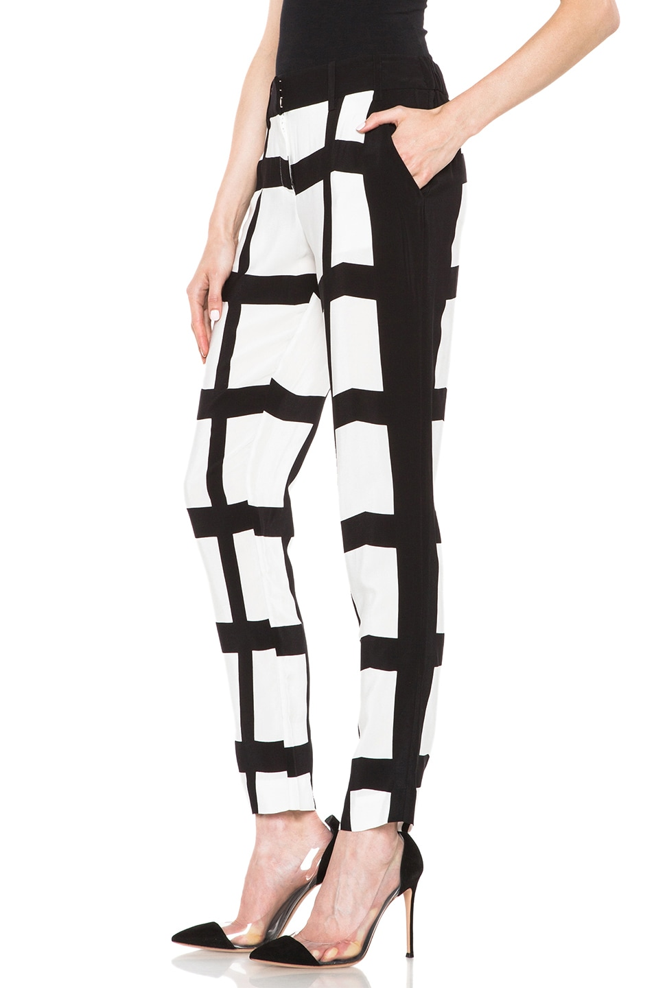Image 2 of Sass & Bide The Cartoonist Viscose Pant in Print