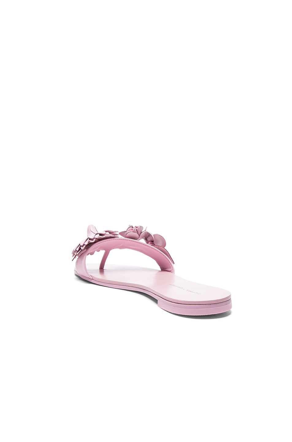 Image 3 of Sophia Webster Leather Lilico Sandals in Pink