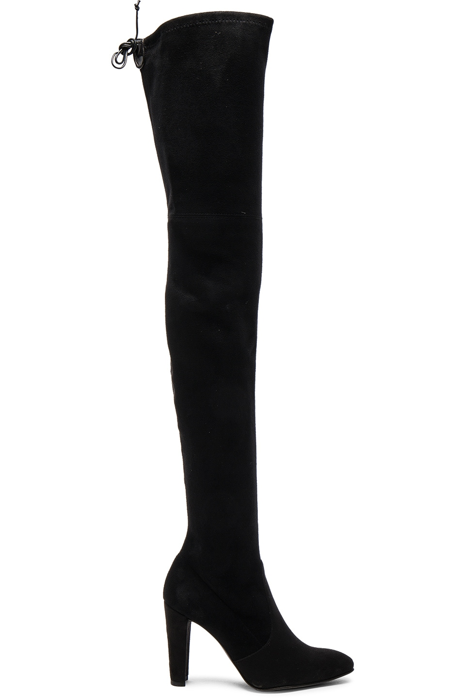 Image 1 of Stuart Weitzman Suede Alllegs Boots in Black