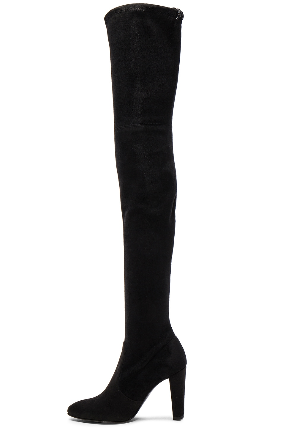 Image 5 of Stuart Weitzman Suede Alllegs Boots in Black