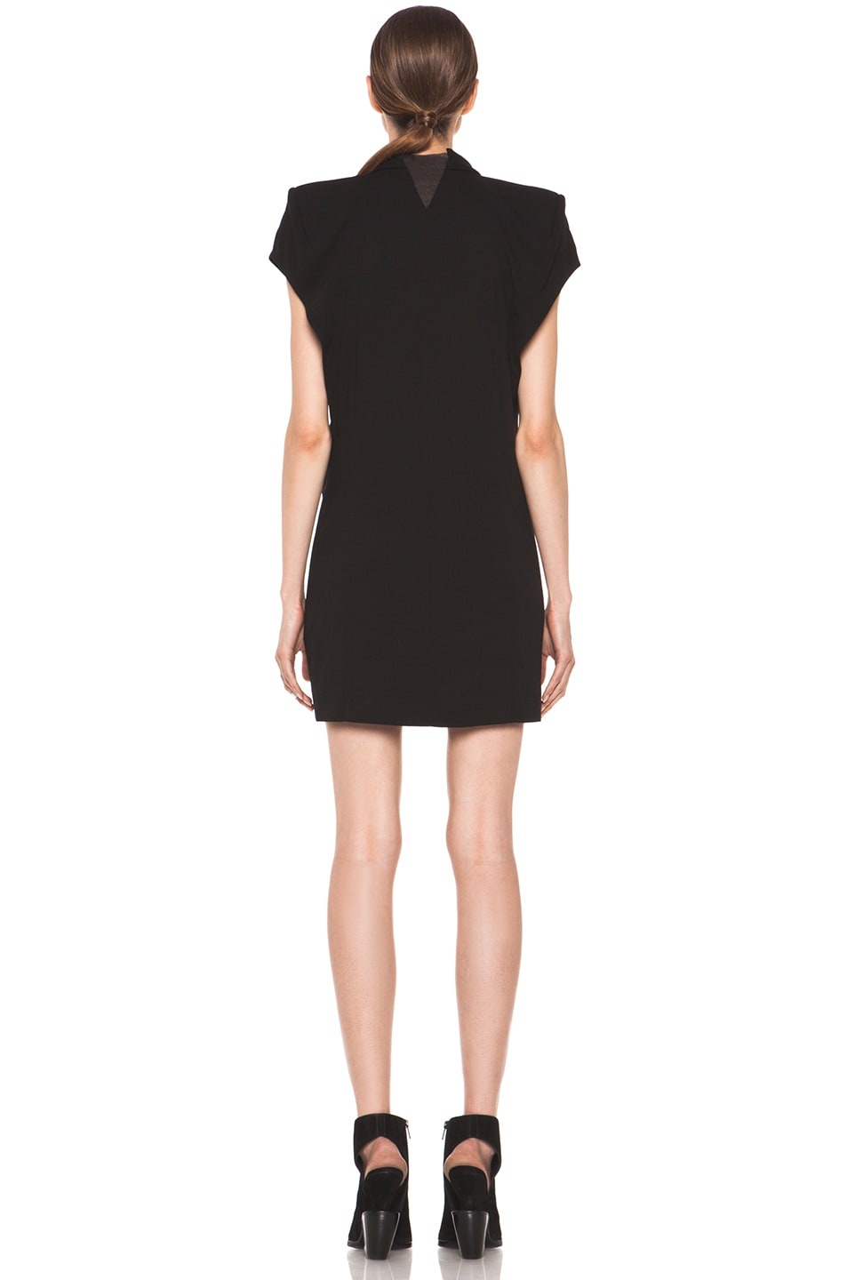 Image 4 of Theyskens' Theory Dune Fabby Dress in Black