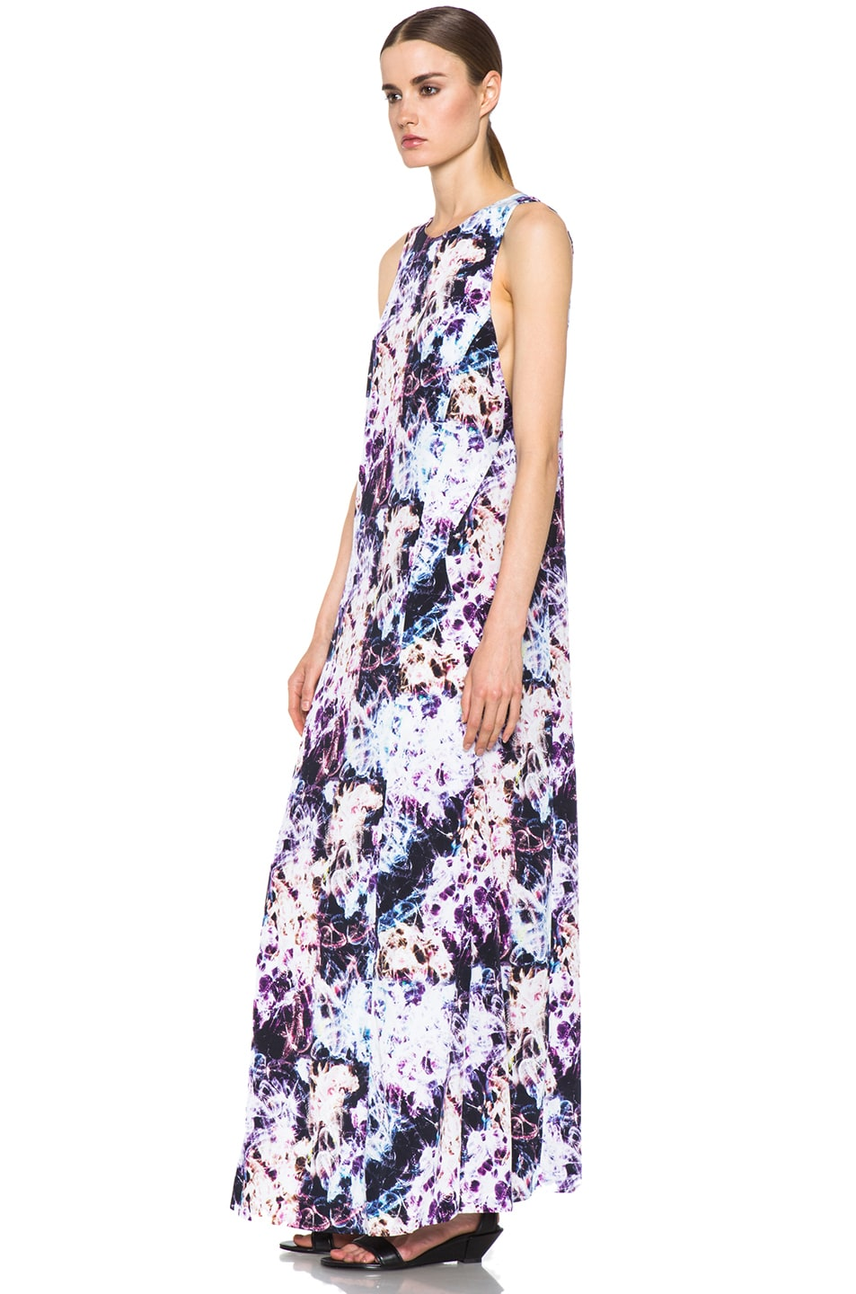 Image 2 of Theyskens' Theory Dlilac Ilight Maxi Dress in Bright Multi