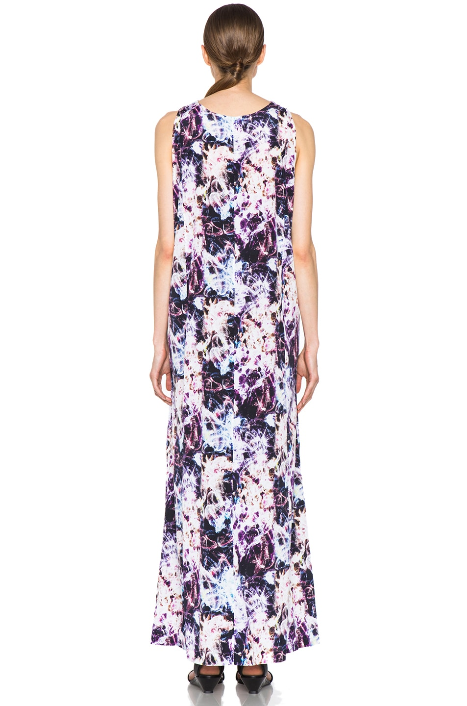 Image 4 of Theyskens' Theory Dlilac Ilight Maxi Dress in Bright Multi