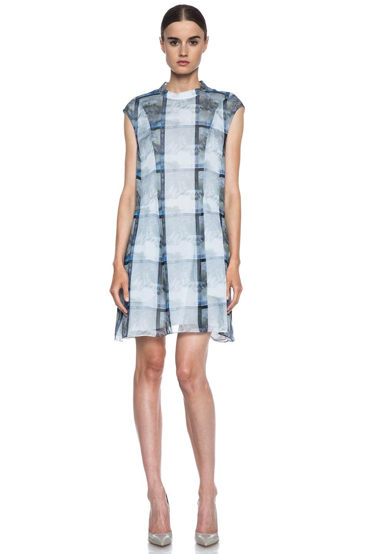 Image 1 of Theyskens' Theory Deden Silk Dress in Light Multi