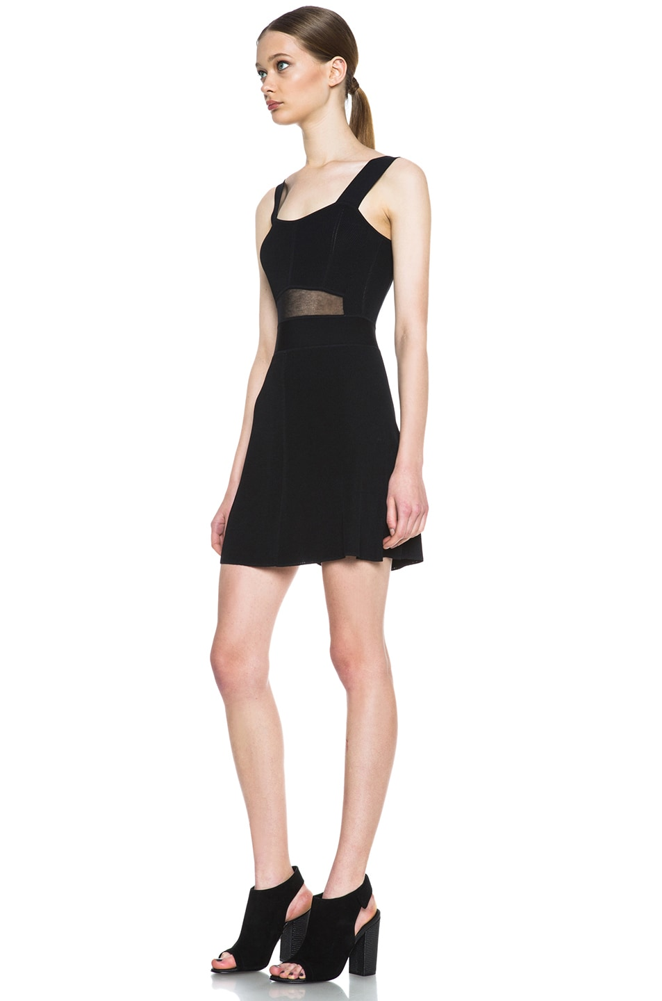 Image 2 of Theyskens' Theory Kindra Knit Dress in Black