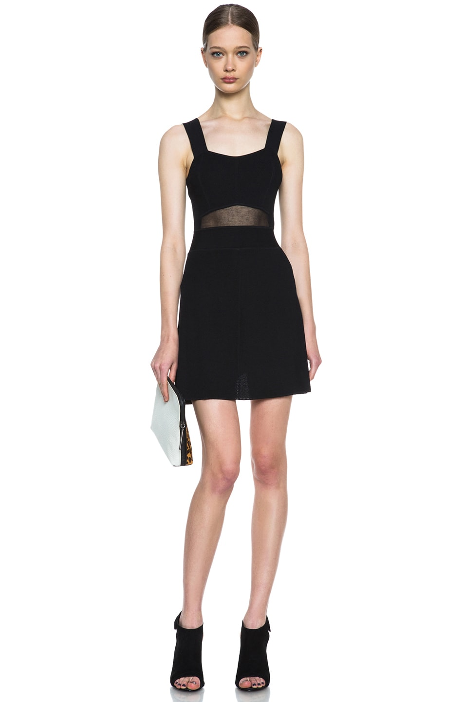 Image 5 of Theyskens' Theory Kindra Knit Dress in Black