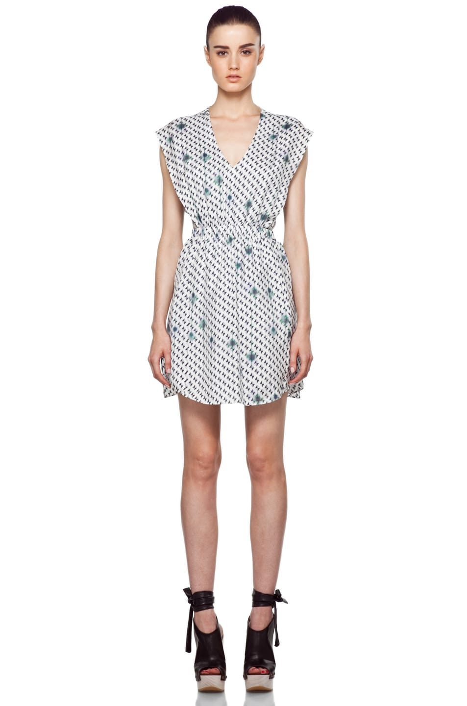 Image 1 of Theyskens' Theory Ikabyles Diller Dress in Multi
