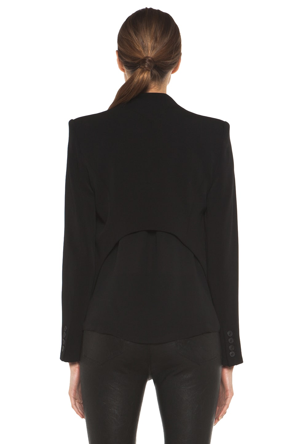 Image 5 of Theyskens' Theory Fomment Jirdo Jacket in Black