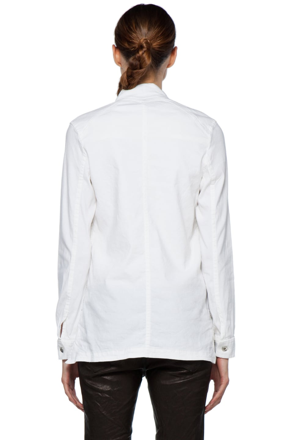 Image 5 of Theyskens' Theory Fecconi Jullan Jacket in Optic White