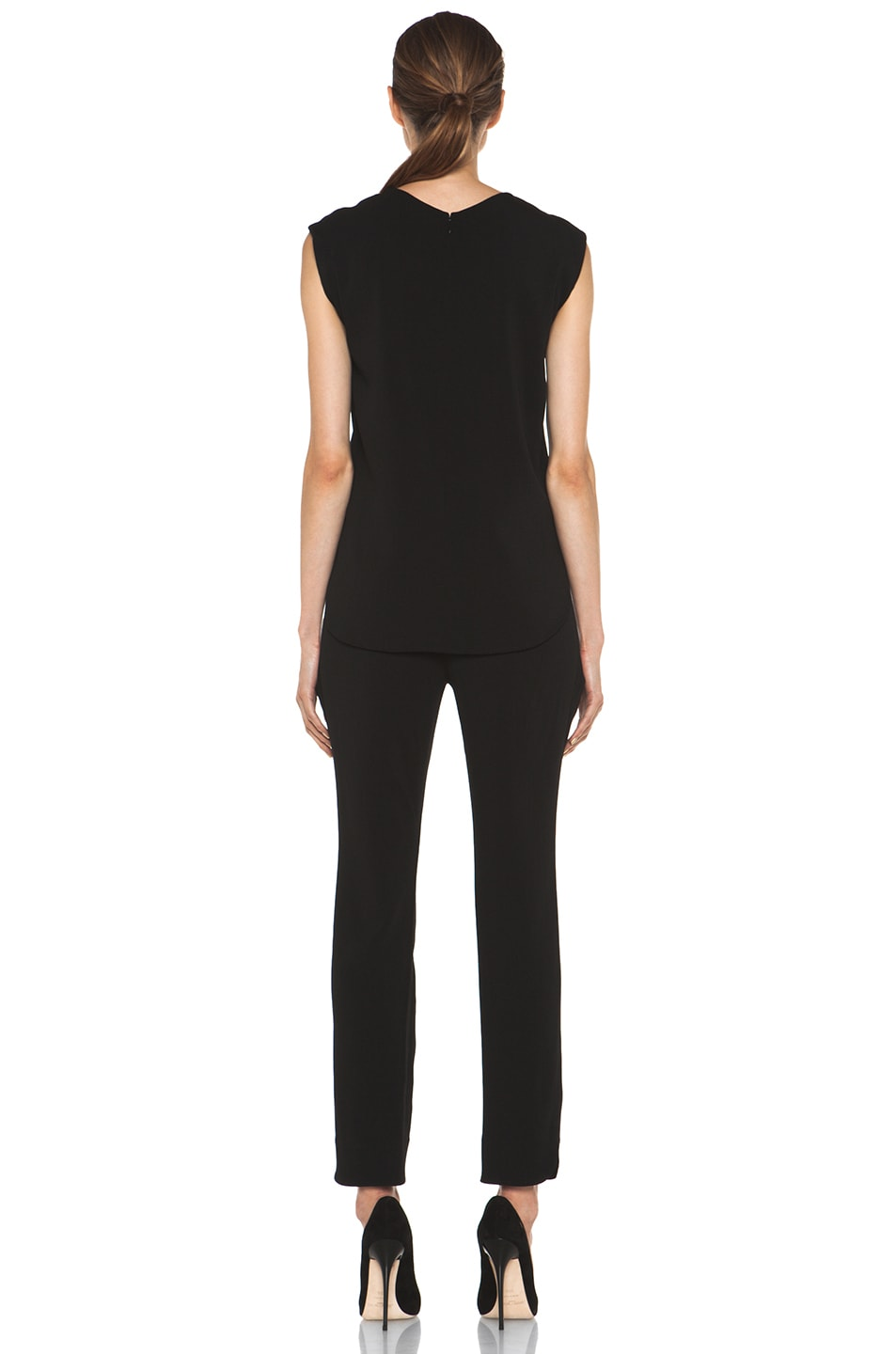 Image 4 of Theyskens' Theory Fomment Ginta Jumpsuit in Black