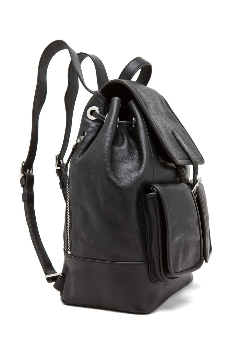 Image 3 of Theyskens' Theory Ando Osfa Backpack in Black