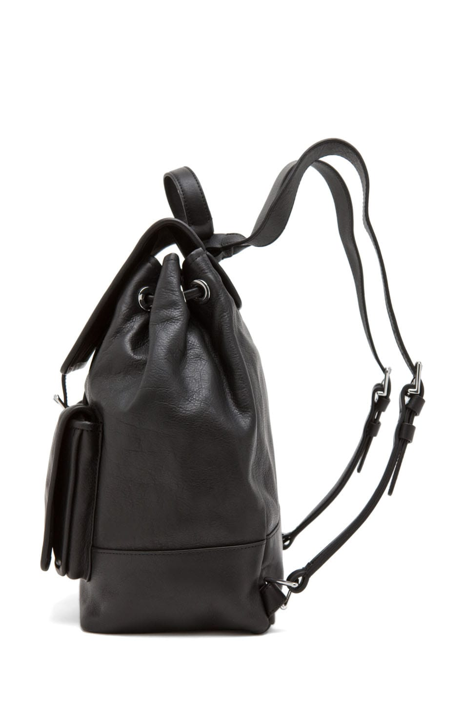 Image 4 of Theyskens' Theory Ando Osfa Backpack in Black