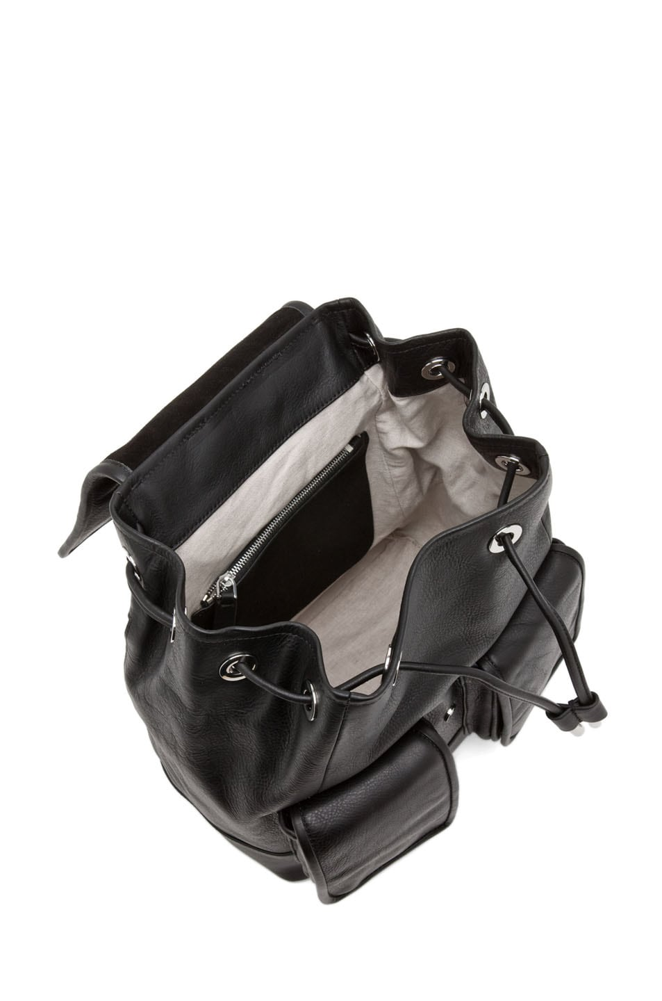 Image 5 of Theyskens' Theory Ando Osfa Backpack in Black