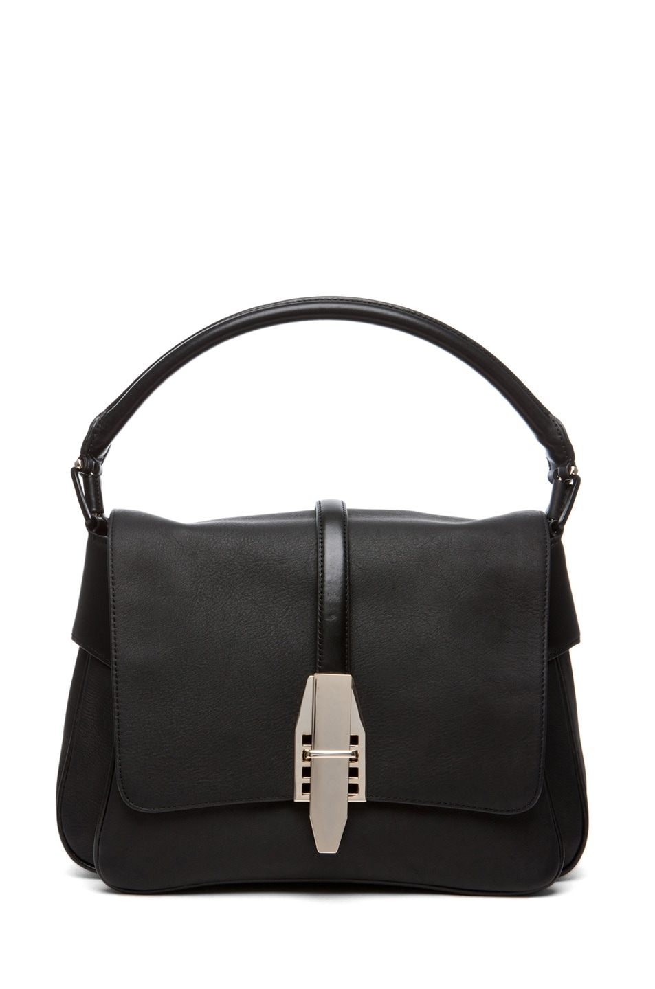 Image 1 of Theyskens' Theory Willa Azia Leather Bag in Black