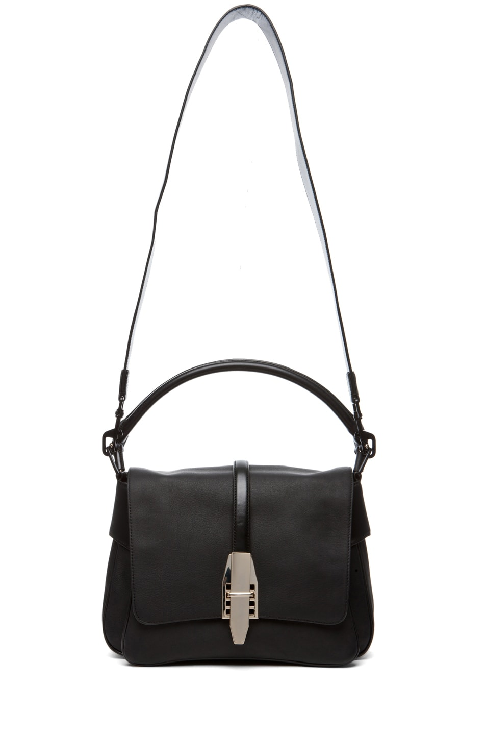 Image 5 of Theyskens' Theory Willa Azia Leather Bag in Black
