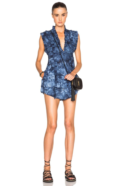 Image 5 of Thakoon Sac Shorts in Indigo