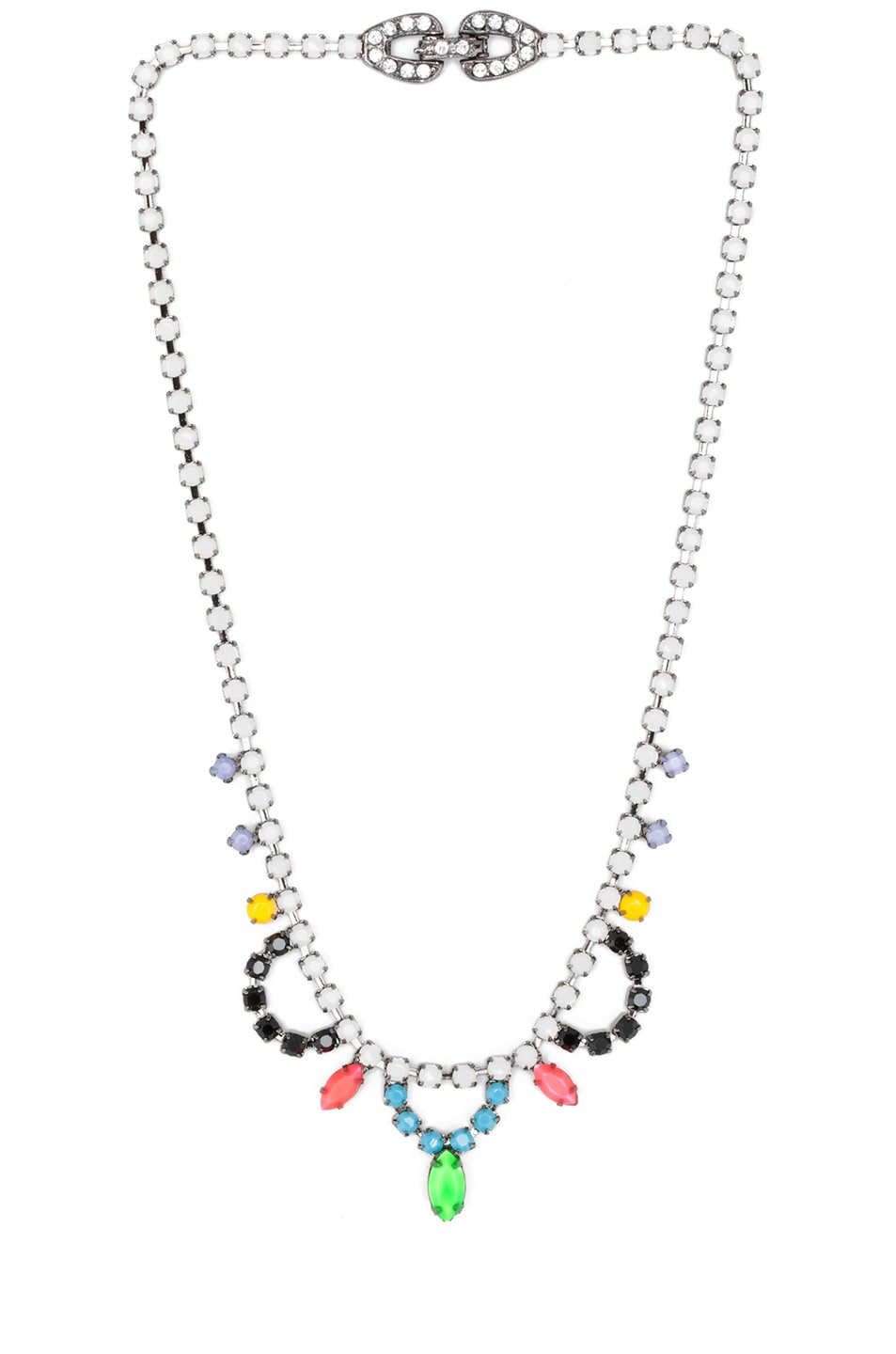 Image 1 of Tom Binns Electro Clash Nova Necklace in Multi